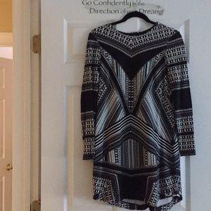 Geometric design dress